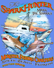 Monster Shark T-Shirts